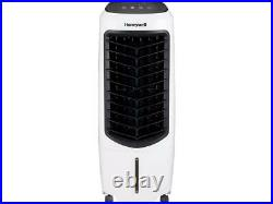 Honeywell TC10PEU Compact Evaporative Tower Air Cooler with Fan & Humidifier, Wh
