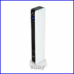 Klarstein Hightower Hot/Cold 2200W Electric Fan Tower Heater Cooler White 2in1