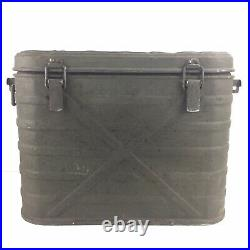 Landers Frary & Clark US Military Metal Insulated Cooler 1960 With Inserts