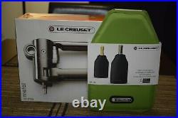 Le Creuset Advanced Lever Wine Opener & Foil Cutter Set + Wine cooler sleeve