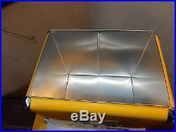 Mooneyes Soda Cooler Ice Box Metal Vintage Style Hot Rod Kustom Nhra Rat Fink