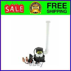 Marine Metal Aerator Livewell Kit Cooler Bait Bucket Fish Saver 12V Pump 360GPH