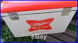 Metal Miller High Life Cooler