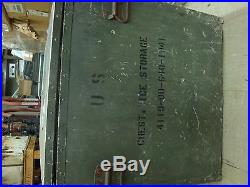 Military Insulated Cooler/Icebox with Metal Handles