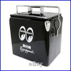 Mooneyes Metal Soda Cooler Metal Vintage Style Moon Nhra Scta Cooler