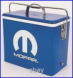 Mopar Omega Vintage 22L Metal Cooler Blue