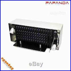 Motorcycle Reefer Oil Cooler Fan Cooling System For Harley FLHT FLHR FLTR 99-08