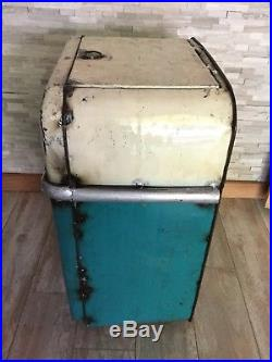 NWT Think Outside Metal Recycled Material Refrigerator Beverage Ice Cooler