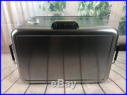 New Coleman 54 Quart Vintage Steel Belted Cooler withCorona Logo & Bottle Opener