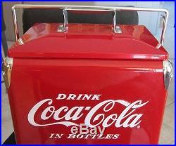 New Metal Coca Cola COKE COOLER 6 pack