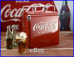 New Metal Coca Cola COKE COOLER 6 pack FREE SHIPPING