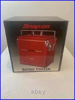 New Snap-On Tools Retro-Style BEVERAGE COOLER 1948 Replica Vintage