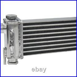 PRO Aluminum Oil Cooler For 1986-92 Mazda RX-7 RX7 FC3S S4/S5 13B Engine Cooling