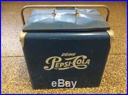 Pepsi Cola Cooler All Metal 1950s