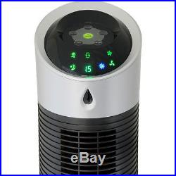 Personal Evaporative Cooler, Humidifier Tower Fan, Portable Swamp Cooling Unit