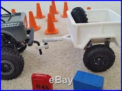 Proline Ambush 125 124 Truck Crawler, Trailer, Gas Can, Cooler, Kayak, RC Toy