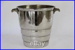 RARE French Vintage Champagne Bucket, Cooler Geismann, Art Deco Style