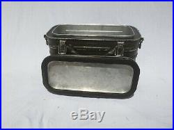 RARE Vintage 1962 US Army Military Metal Cooler Insulated Container Frary Clark