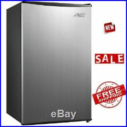 REFRIGERATOR MINI FRIDGE FREEZER Drink Beer Food Cooler Home Kitchen Ice Box New