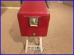 ROYAL CROWN RC COLA RED METAL COOLER 1950's by Progress Refrigerator Company