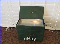 Rare Antique Vintage 1930s Metal Cooler
