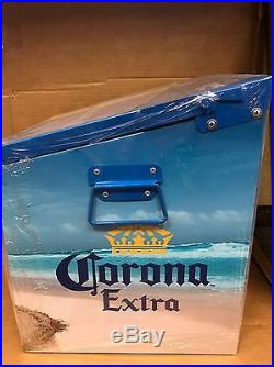 Rare Metal Corona Light Cooler Ice Chest Find Your Beach Bottle Opener