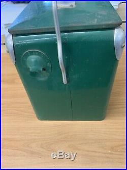 Rare Vintage 1950's Snackmaster Soda Pop Metal Cooler Embossed Sign