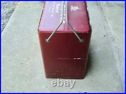 Rare Vintage Metal Budweiser Cooler