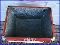 Royal Crown (RC Cola) Metal Ice Chest