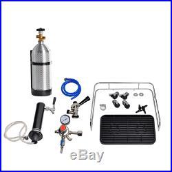SMAD Kegerator / Fridge Stainless Steel Beer Cooler Dispenser Reversible Door