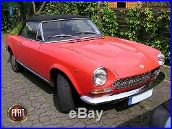 Satz Stoßstange Ecken Hinten Links + Rechts Fiat 124 Spider Rear Bumper 1966-78