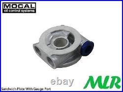 Seat Ibiza Leon Cupra R 1.8 20v Turbo 2.0 Mocal Braided Hose Oil Cooler Kit Zqk