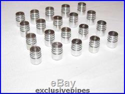 Set of 20 metal Filter cooler (for smoking pipe 9 mm filter)