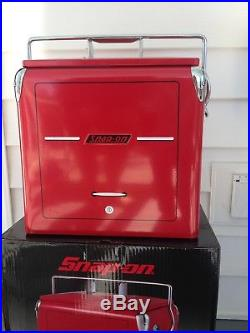 Metal Ice Chest | Snap On Tools Red Powder Coated Metal