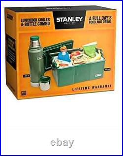 Stanley Adventure Lunchbox Cooler Classic Vaccuum Bottle Thermos Camping Outdoor