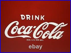 TempRite MFG Vintage Metal Coca Cola Cooler