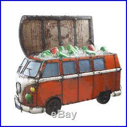 Think Outside Kool Kombi Metal Van with Surf Boards Cooler Indoor & Outdoor