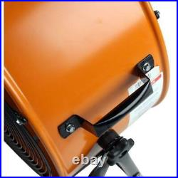 Tilt Fan Drum Heavy Duty Direct Drive Lightweight Nonskid Garage Portable 2Speed
