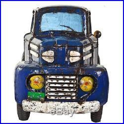 Truck Cooler Blue Metal Cooler New
