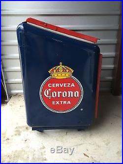 Ultra Rare Metal Negra Modelo Corona Extra Cerveza Beer Cooler