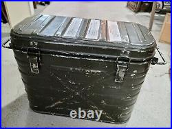USA 1979 Military Wyott Food Metal Storage Cooler