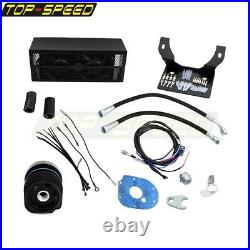 Ultracool Reefer Oil Cooler Fan Cooling System For Harley Touring RoadKing 99-08