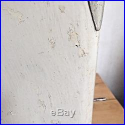 VINTAGE 7UP SEVEN UP METAL COOLER 1950's DRAIN PLUG INCLUDED Progress Refrig