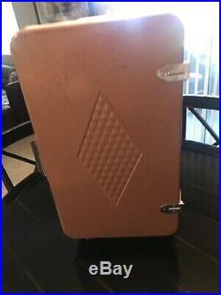 VINTAGE COLEMAN 1960'S RARE BROWN TAN ICE Chest / COOLER