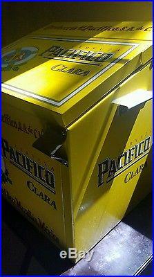 VINTAGE PACIFICO Beer Large METAL Cooler