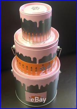 Veuve Clicquot Champagne 200th Anniversary Cake Cooler Bucket New No Fizz Inc