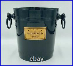 Veuve Clicquot Ponsardin Vintage Black Champagne Ice Bucket, Cooler