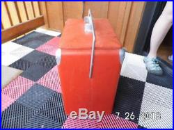 Vintage 1950's TempRite Coca Cola Cooler Ice Chest Cooler Metal Embossed