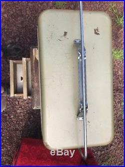 Vintage 1950s Knapp Monarch Aluminum Cooler Chest Retro Mid Century Glamping