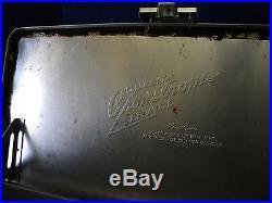Vintage 1960's HAMM'S Beer Aluminum Metal Padded Cooler Air Stream Camping